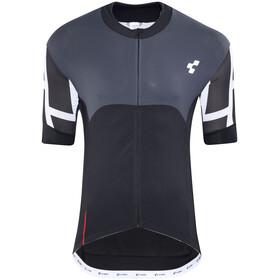 Cube Blackline Koszulka kolarska, krótki rękaw Mężczyźni szary/czarny